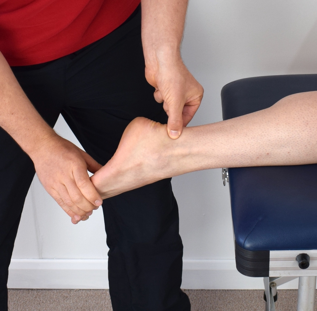 physio assessment ankle injury rehab