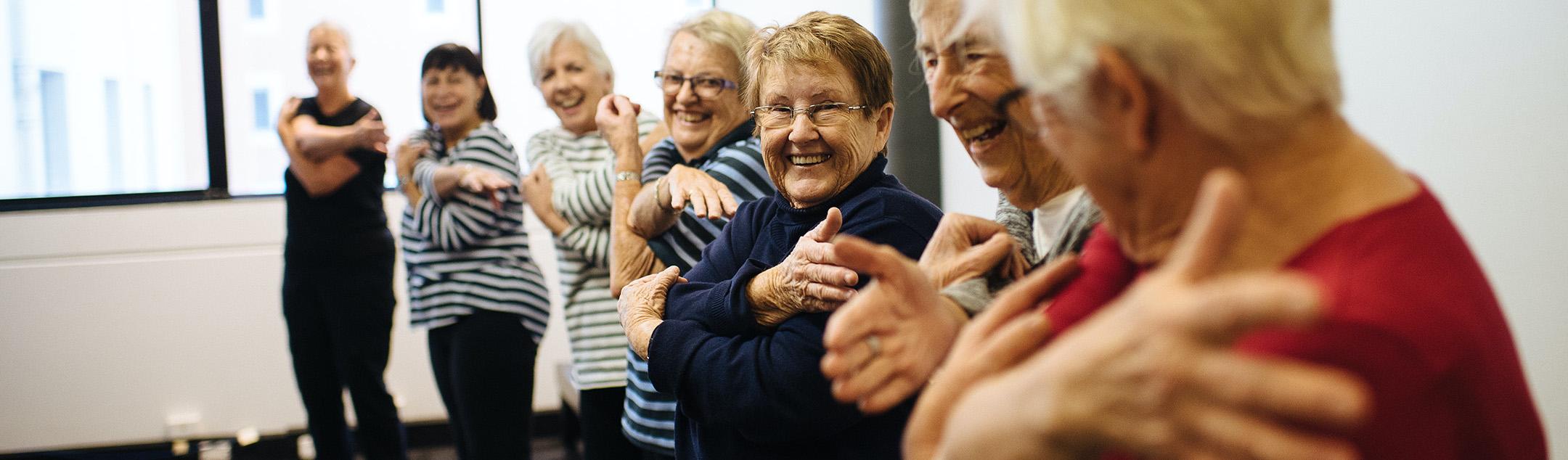 over 60 seniors exercise class newcastle
